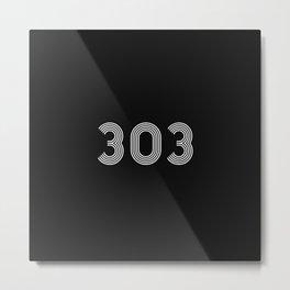 303 rave logo Metal Print