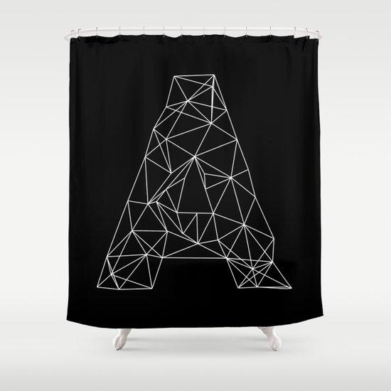 Adamas Shower Curtain