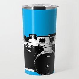 Leica in Blue Travel Mug