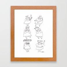 SOON Framed Art Print