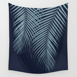 Summer Night Palm Leaves #2 #tropical #decor #art #society6 Wall Tapestry