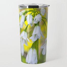 White woodland flora. Travel Mug