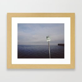 Waterfront 01 Framed Art Print