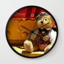 Barnabus Bear's Steps Wall Clock