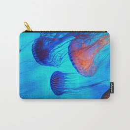Watch the Flow of the Jelly Glow  Carry-All Pouch