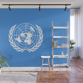 The United Nations Flag - UN Flag Wall Mural