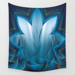 Color Meditation - Blue  Wall Tapestry
