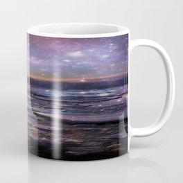 mystic waters blue lavender burgundy Coffee Mug