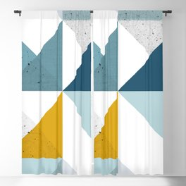 Modern Geometric 18 Blackout Curtain