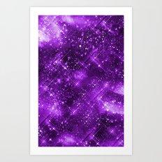 Dazzling Series (Purple) Art Print