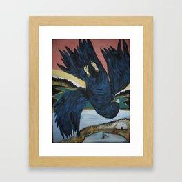 Crow Anishnabe Legend Framed Art Print