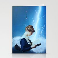 notorious Stationery Cards featuring Notorious Lightning by John Turck