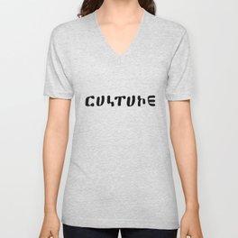 Culture Unisex V-Neck
