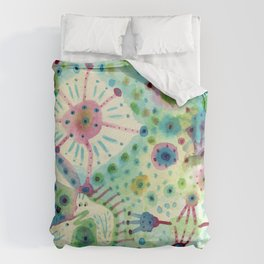 Ink Washes Duvet Cover