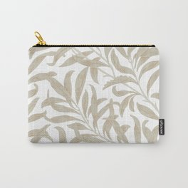 Delicate Leaf Pattern Carry-All Pouch