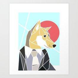 Looking Sharp Art Print