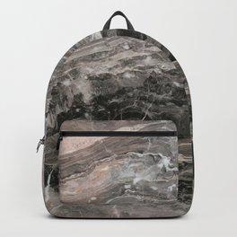 Smokey gray marble Backpack