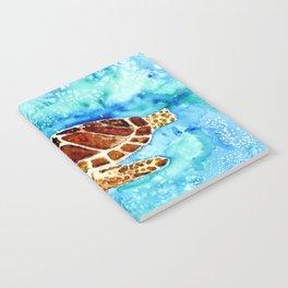 Sea Turtle Painting Notebook