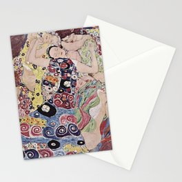 THE VIRGINS - GUSTAV KLIMT Stationery Cards