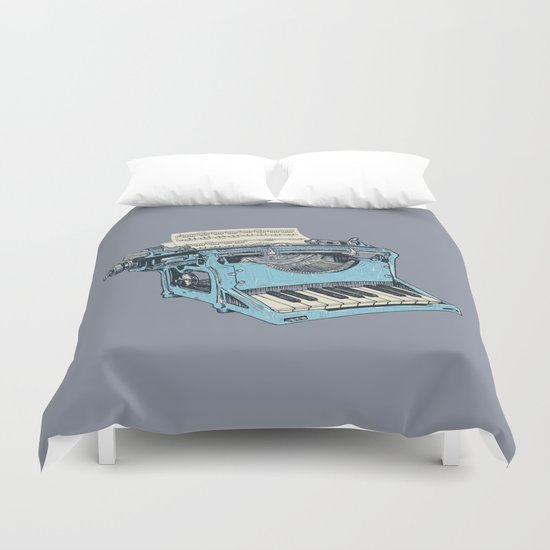 The Composition. Duvet Cover