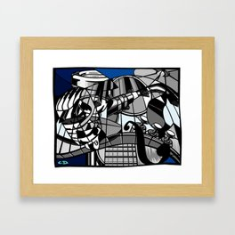 Jam Session (Euphony) Framed Art Print