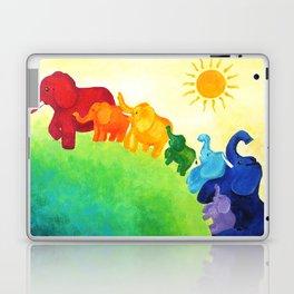 Elephant Rainbow Laptop & iPad Skin