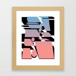 Transplanting Sunset Framed Art Print