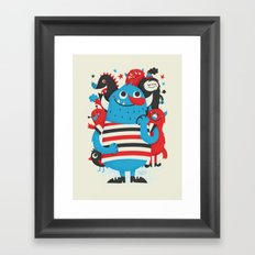 Something to Talk About Framed Art Print