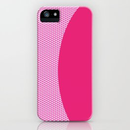 pink triangle iPhone Case