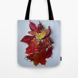 Pile of Autumn Tote Bag