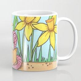 Book Worm Coffee Mug