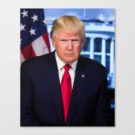 Portrait of President Donald J. Trump Canvas Print