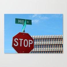 Hill St.     Ann Arbor, Michigan Canvas Print