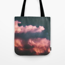 Pink Clouds Tote Bag