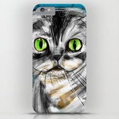 Scottish Fold Cat Slim Case iPhone 6 Plus