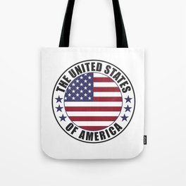 The United States of America - USA Tote Bag