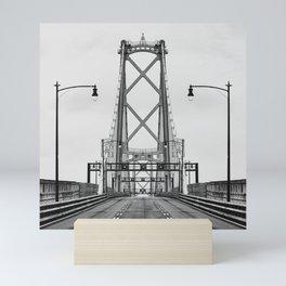 MacDonald Bridge Symmetry Mini Art Print