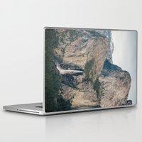 yosemite Laptop & iPad Skins featuring Yosemite Waterfall by Laura Ruth