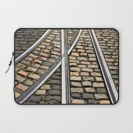 Rails and Cobbles Laptop Sleeve