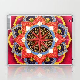 """""""Rose of the Winds"""" Pink mandala by Ilse Quezada Laptop & iPad Skin"""