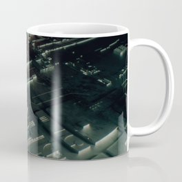 Abstract circuit motherboard Coffee Mug