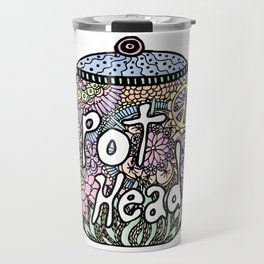 Tea Pot Head Travel Mug