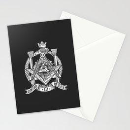 Secret Society Stationery Cards