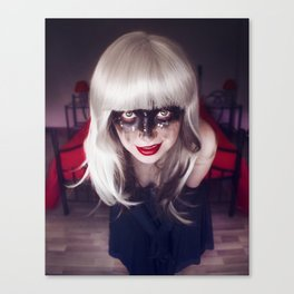 A naughty smile  Canvas Print