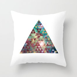 Triangle Nebula  Throw Pillow