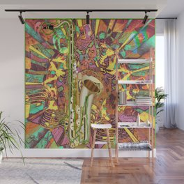 Jazz Me Up Wall Mural