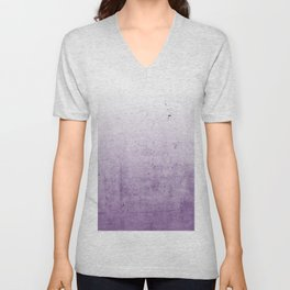Radiant Orchid Purple Ombre  Unisex V-Neck