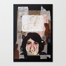 Inner Monologue Canvas Print