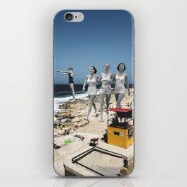 Summer Walks iPhone Skin