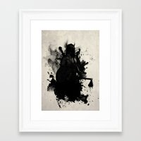 viking Framed Art Prints featuring Viking by Nicklas Gustafsson